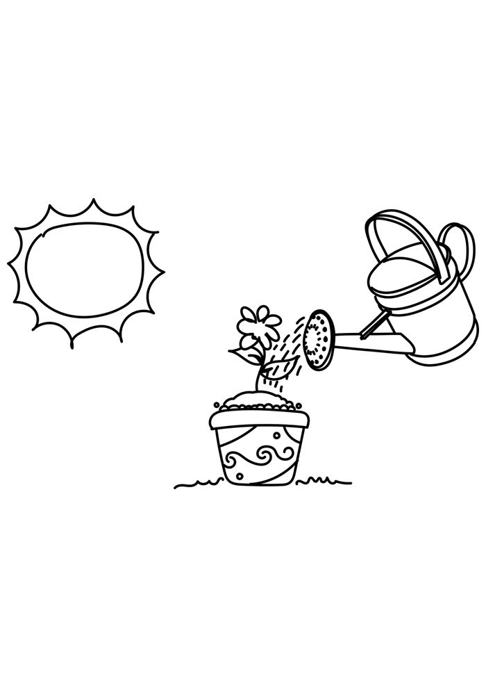 sun coloring page 12