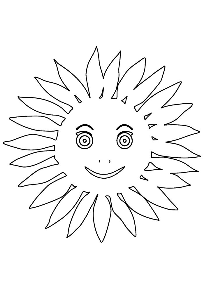 sun coloring page 27