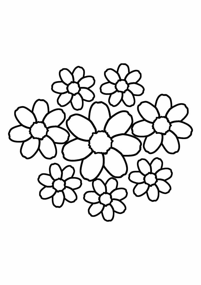 sunflower coloring page 31