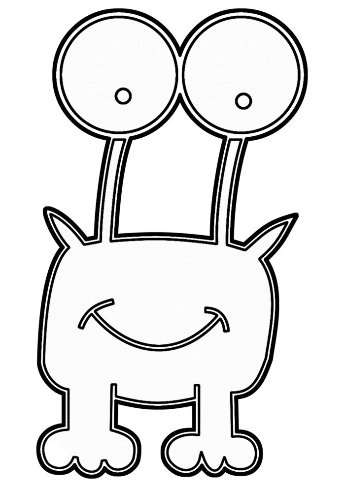 frog coloring page 21