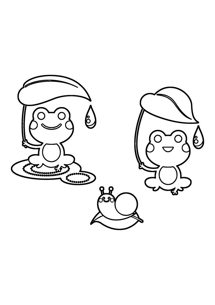 frog coloring page 32