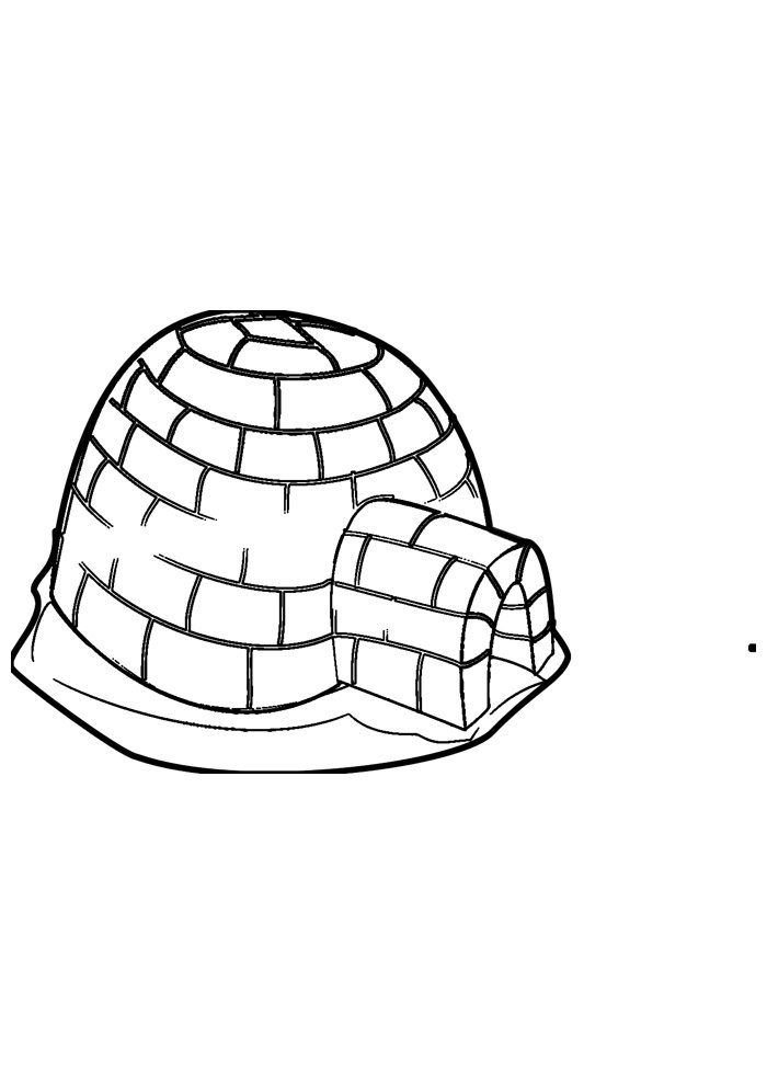 house coloring page 34