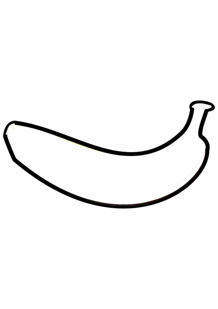 banana coloring page 10