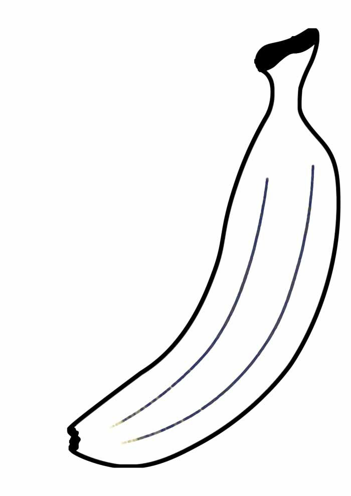 banana coloring page 20