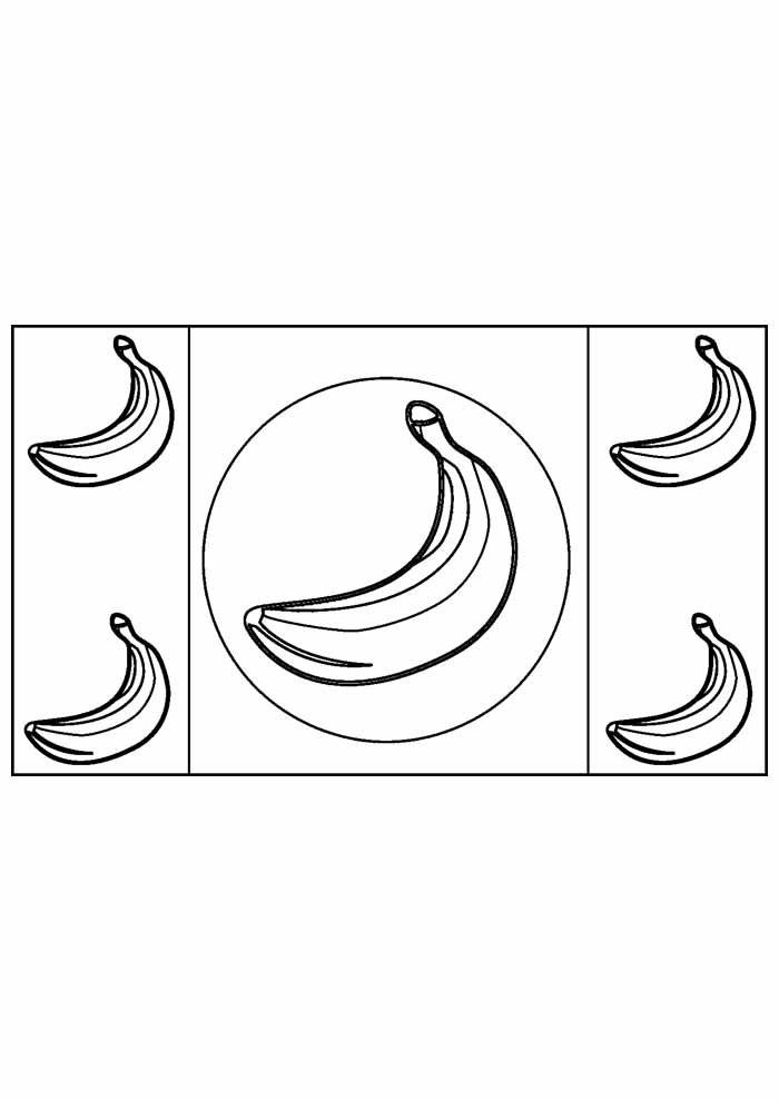 banana coloring page 22