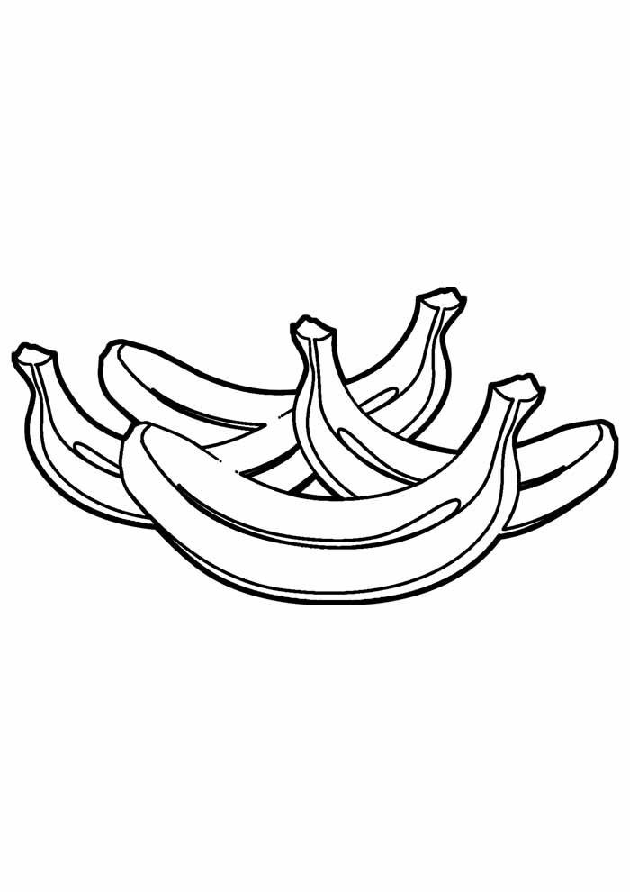 banana coloring page 25