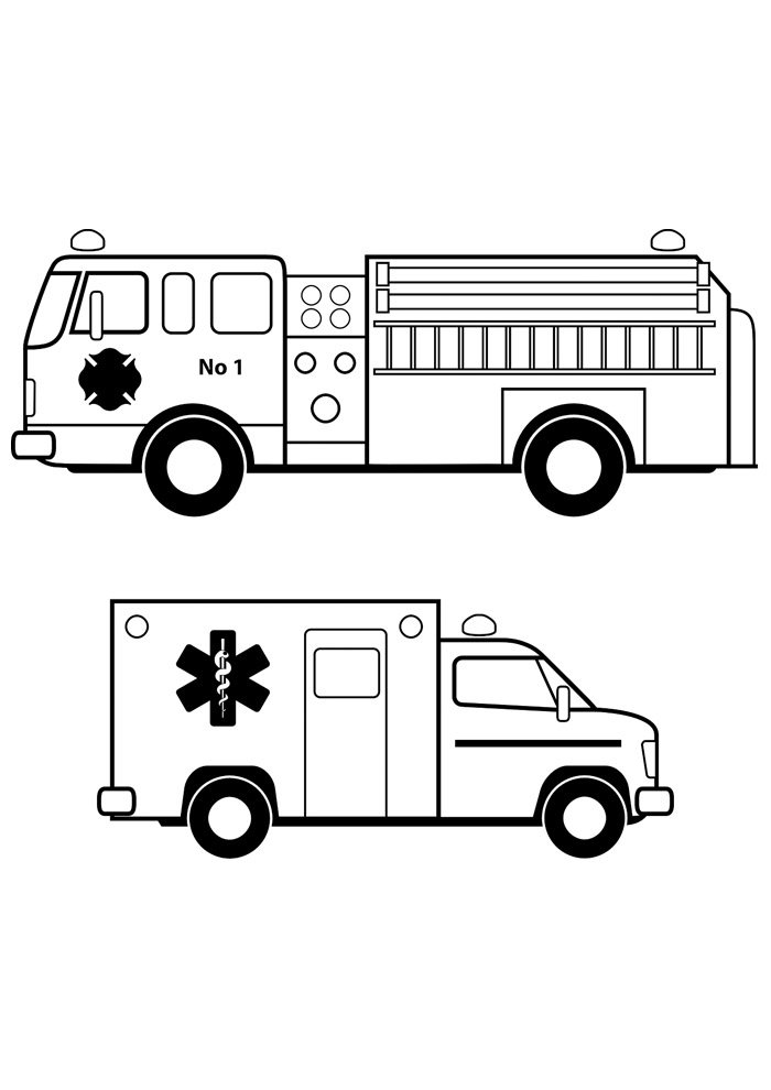 truck coloring page 1