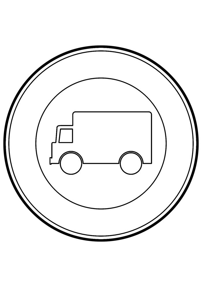truck coloring page 13