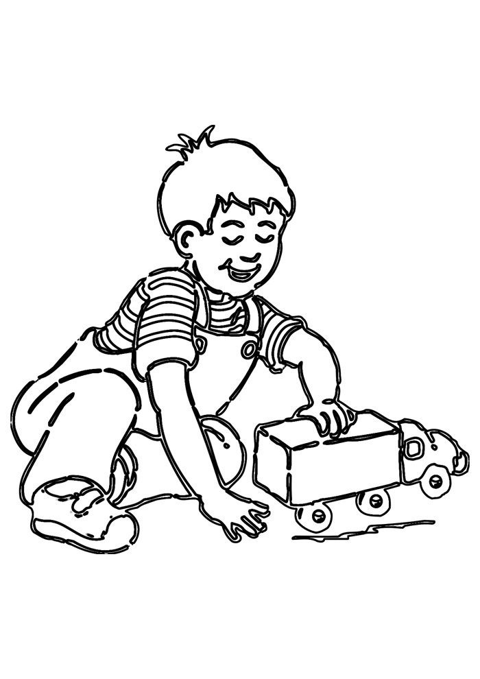 truck coloring page 14