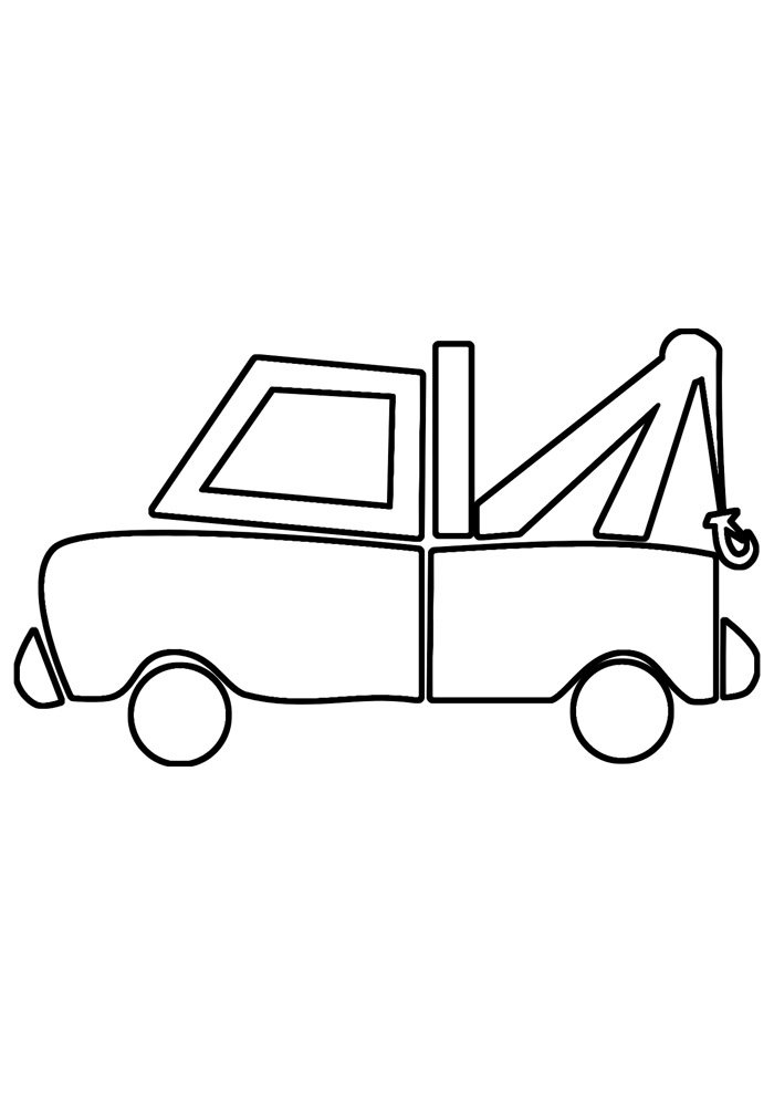 truck coloring page 15