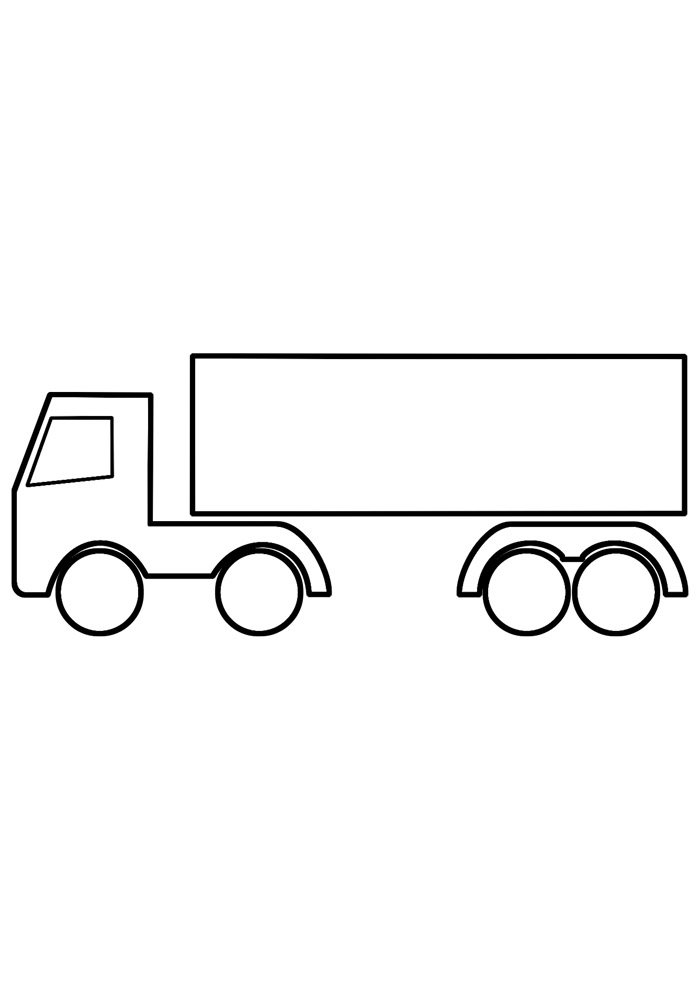 truck coloring page 18