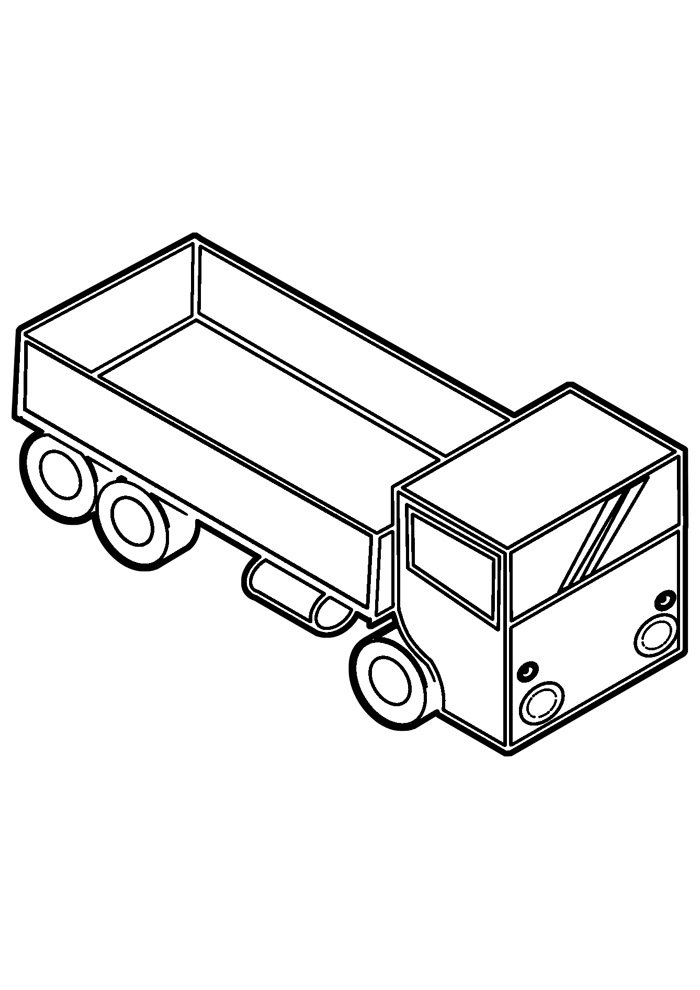truck coloring page 20
