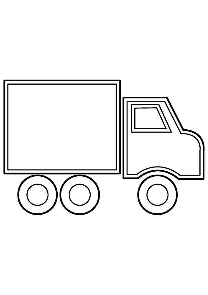 truck coloring page 22