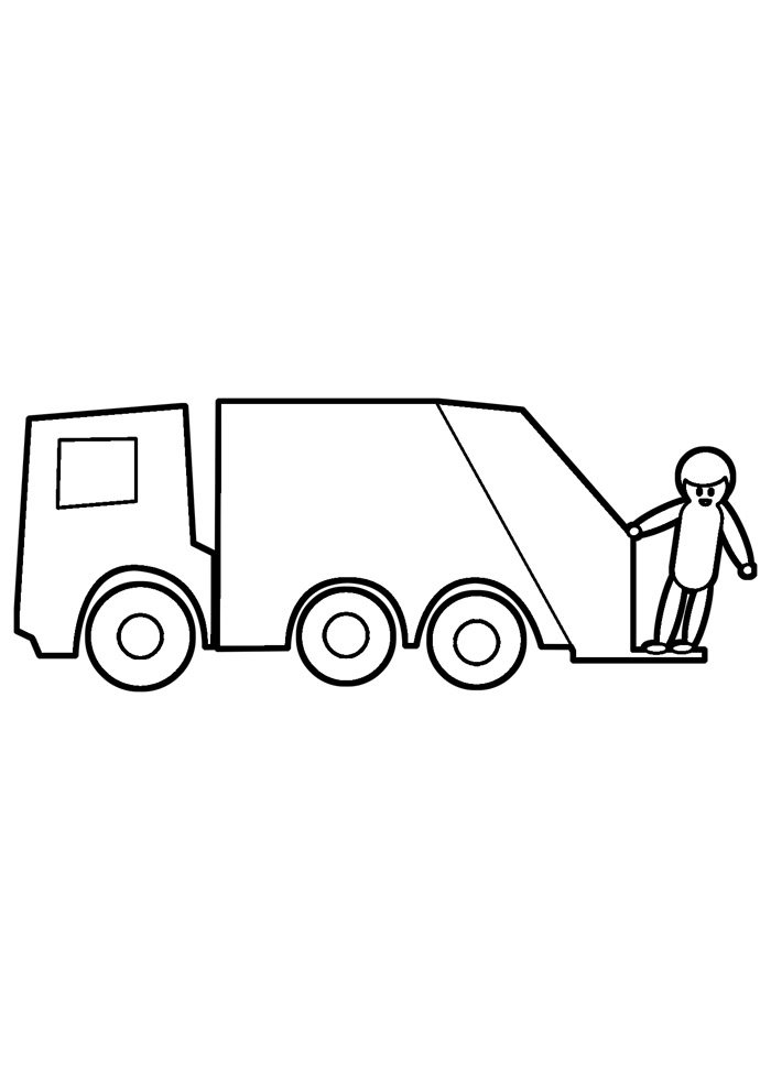 truck coloring page 26