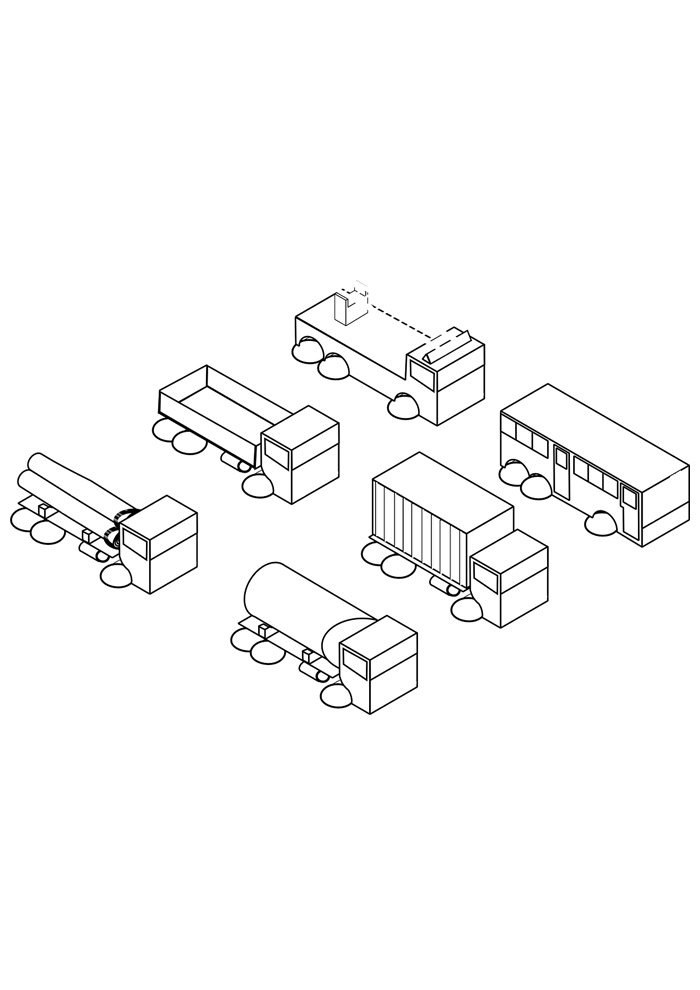truck coloring page 28