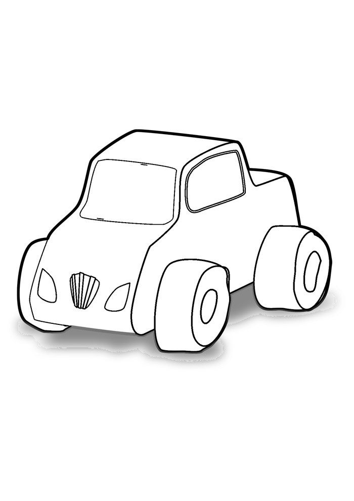 truck coloring page 6