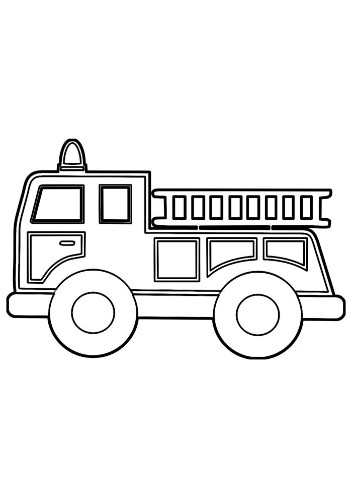 truck coloring page 8