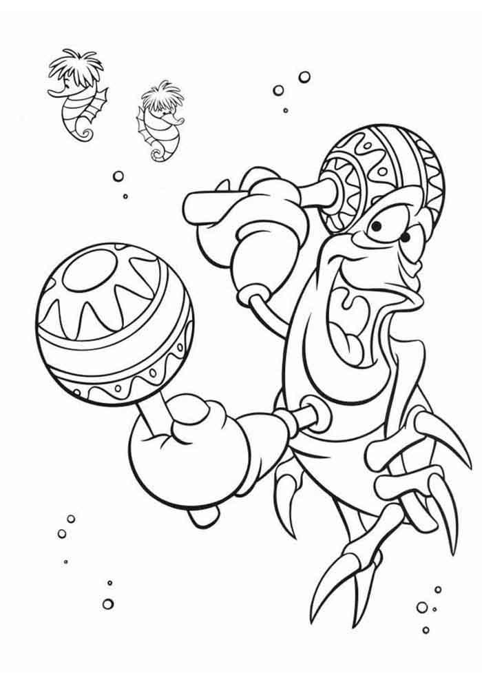 ariel coloring page 52