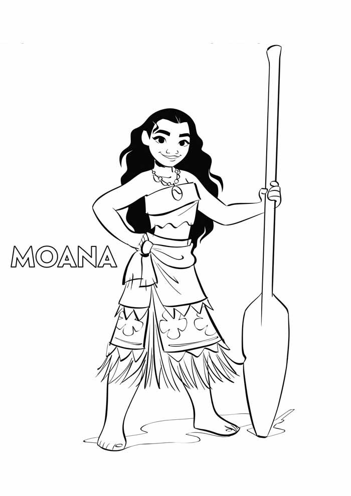 moana coloring page 16