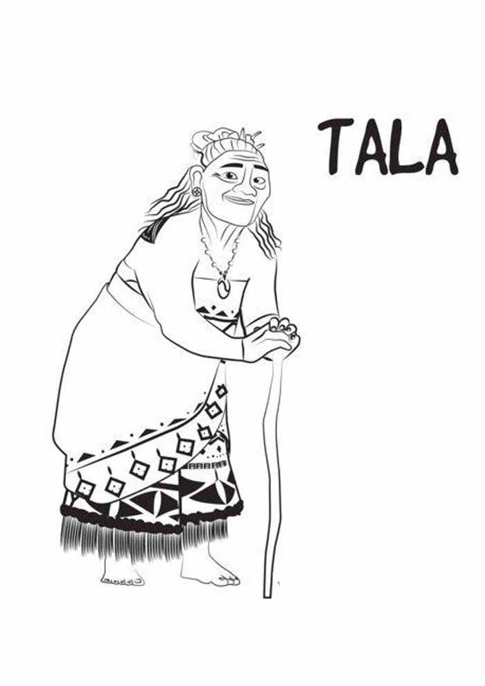 moana coloring page 3