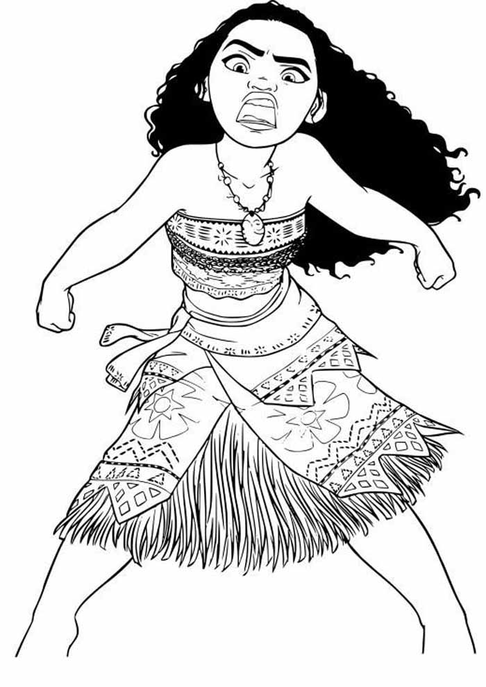 moana coloring page 31