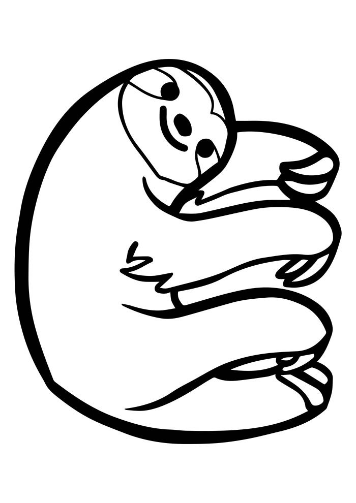 animal coloring page 1