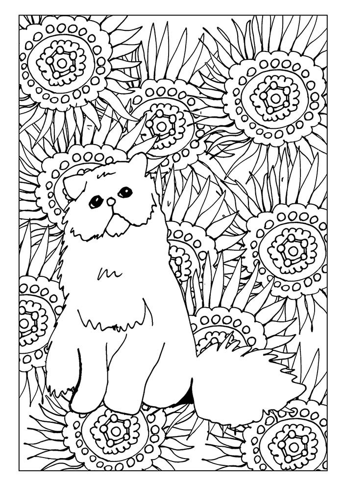 animal coloring page 16