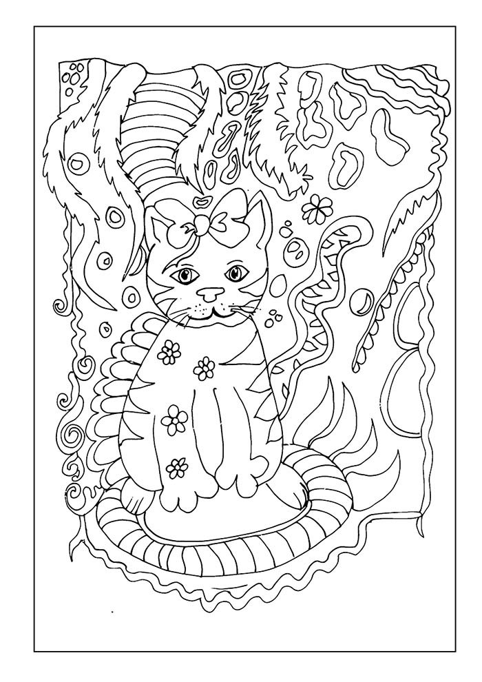 animal coloring page 17