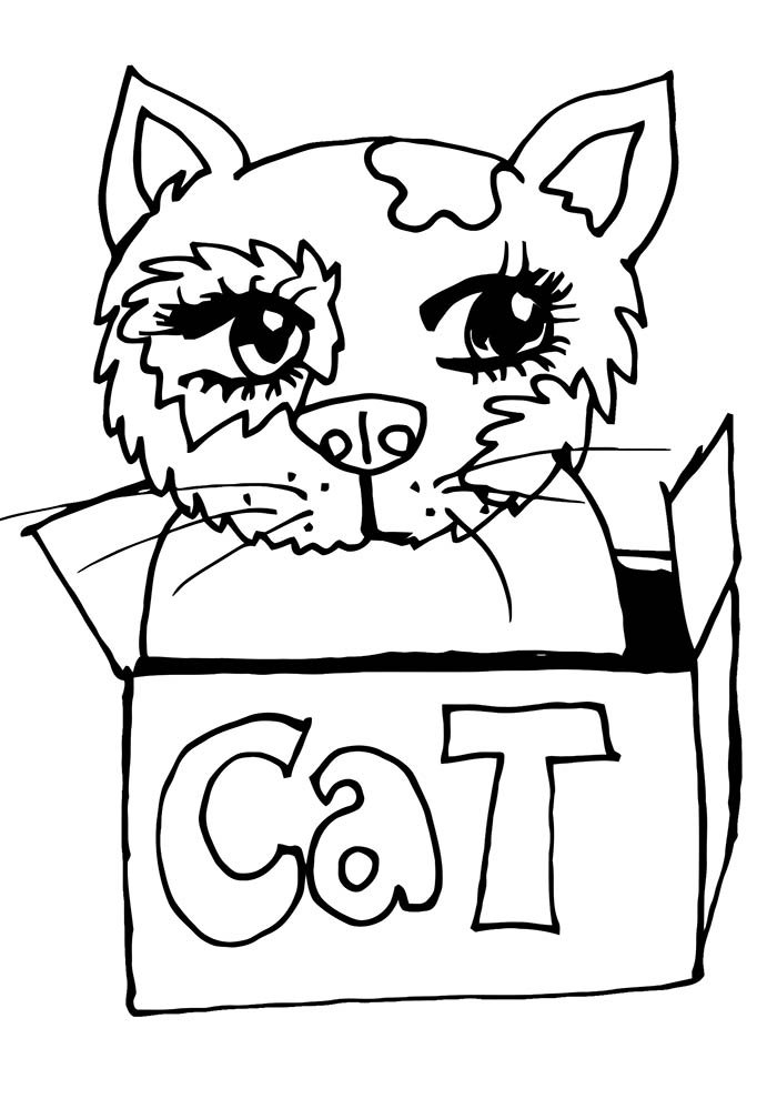 animal coloring page 18