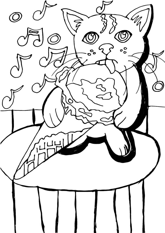 animal coloring page 21