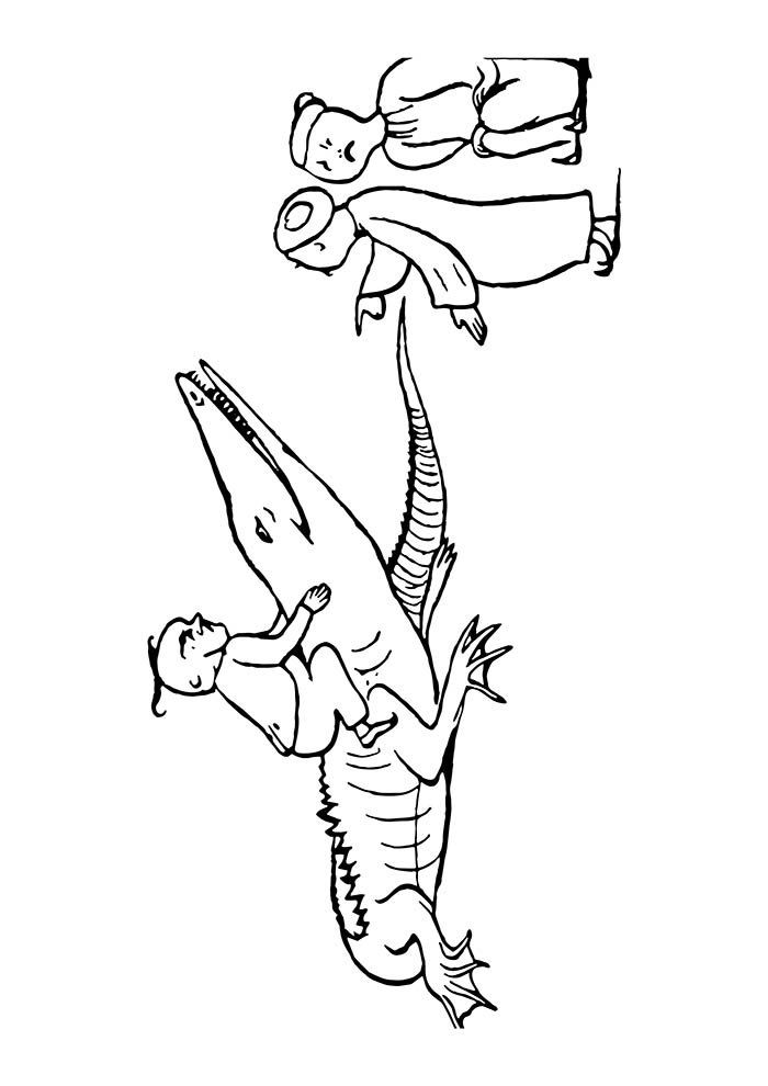 animal coloring page 23