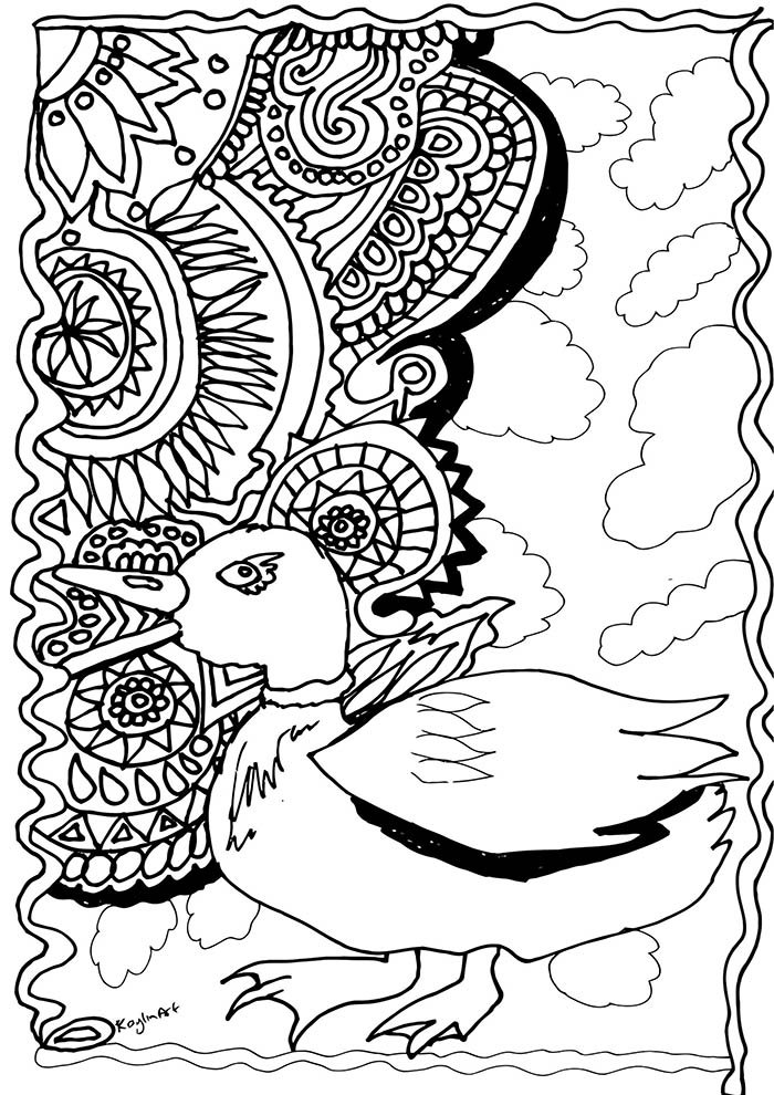 animal coloring page 28
