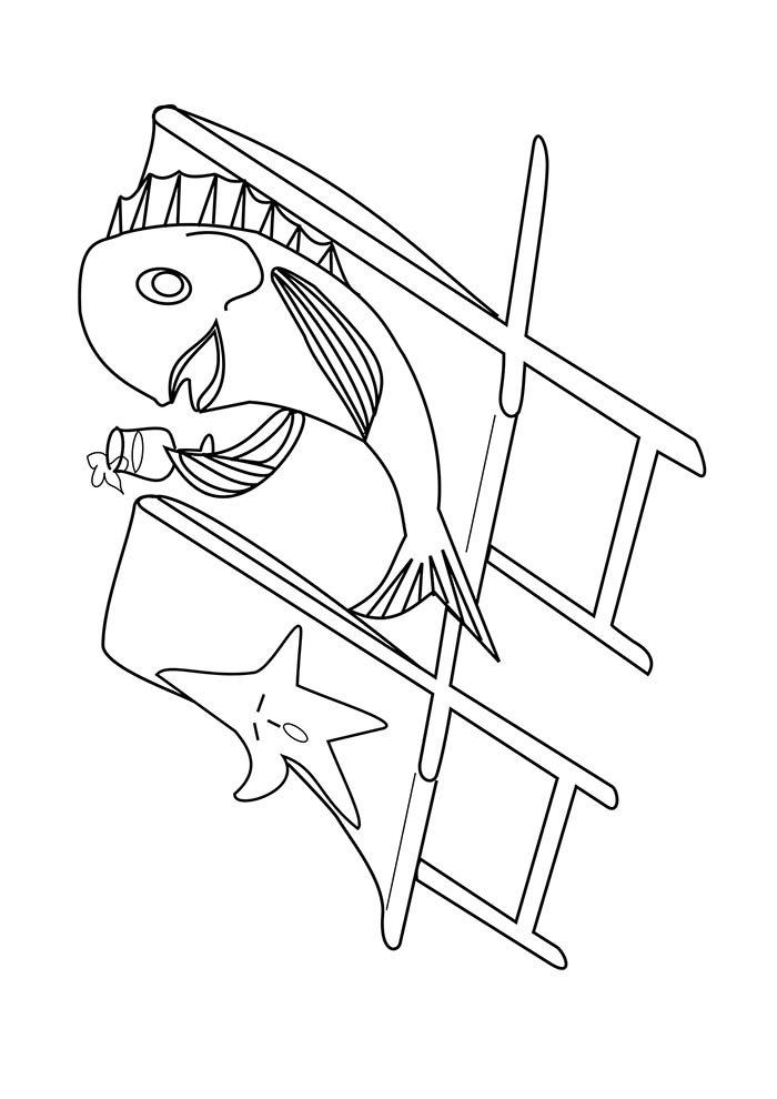 animal coloring page 29