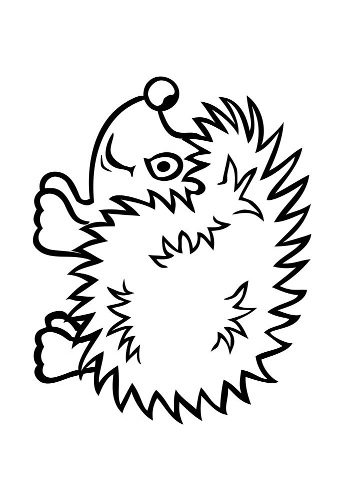 animal coloring page 30