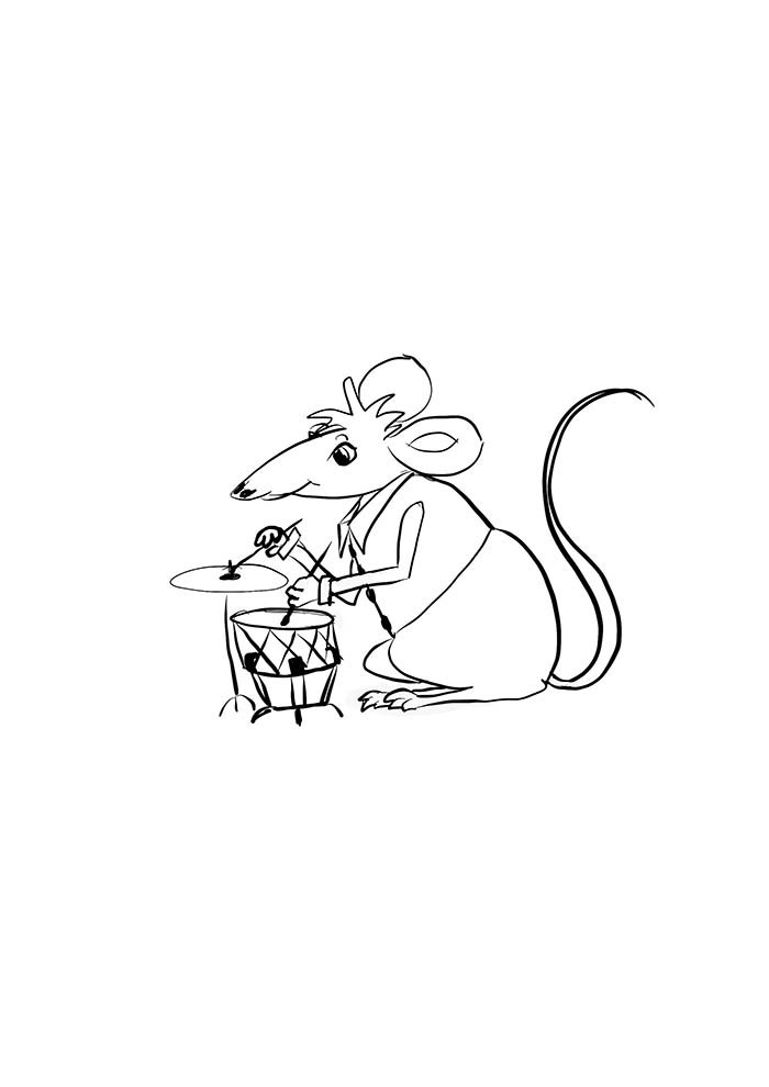 animal coloring page 33