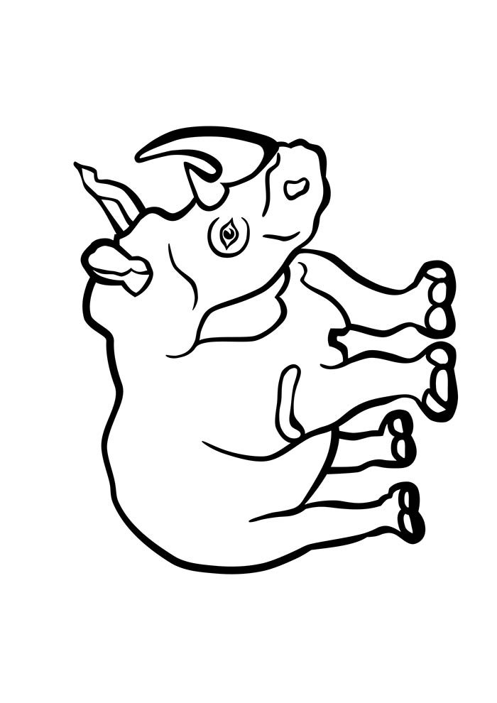 animal coloring page 34